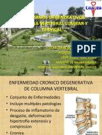 Hernia Nucleo Pulposo Estenosis Espinal Cervical y Lumbar Juan B Actualizado Setiembre 2019