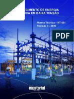 NT-001-EQTL-Normas-Qualidade-e-Des-de-Fornecedores-Fornecimeto-de-Energia-Eletrica-em-Baixa-Tensao