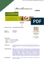 Ayurvedic Herb - EKSHU