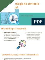 1. Microbiologia No Contexto Industrial