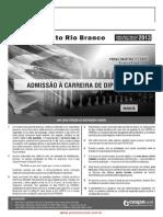 2013 Prova Diplomata Manha