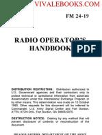 1991 US Army  Radio Operators Handbook 374p