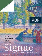 Exposition Signac - Musée Jacquemart André, Paris