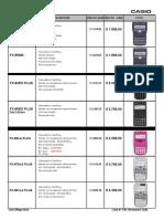 Calculadoras Casio Nº51 - Noviembre