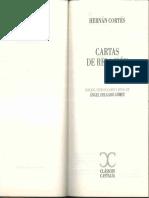 Hernán Cortés. Cartas de relacion.