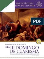 Subsidio - III Domingo de Cuaresma - Ciclo B (2)