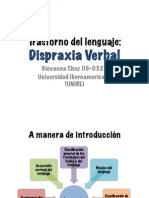 Dispraxia Verbal