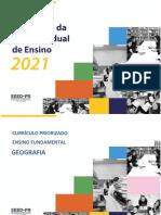 Currículo priorizado Estado do Paraná 2021
