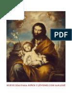 9 días para niños y jóvenes con san José. Novena