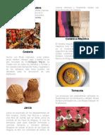 10 tipos de artesanías