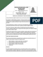 Analisis y Toma de Decisiones Grado Decimo 2021
