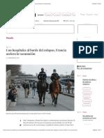La Jornada - Con hospitales al borde del colapso, Francia acelera la vacunación