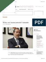 """La Jornada - México, con """"enorme potencial"""""""