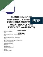 Mantenimiento Preventivo y Garantia Extendida (Preventive Maintenance and Extended Warranty) - - (4)