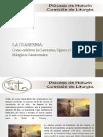 CELEBRACION DEL TIEMPO CUARESMAL