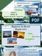 10º Caderno de Propostas e Vivências PRÉ II - Região Sul