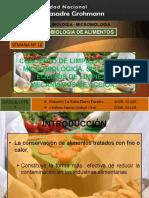 SEMINARIO SEMANA 16(P-3) Limpieza y Desinfeccion