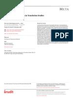 TYMOCZKO_Trajectories of Research in Translation Studies