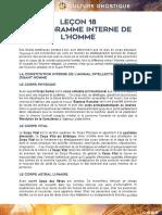 Lecon 18 - LE DIAGRAMME INTERNE DE L'HOMME