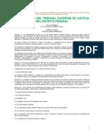 LEY ORGÁNICA DEL TRIBUNAL SUPERIOR DE JUSTICIA DEL DISTRITO FEDERAL