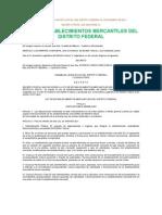 Ley de Establecimientos Mercantiles del Distrito Federal