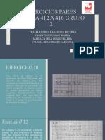 EJERCICIOS PARES PÁGINA 412 A 416