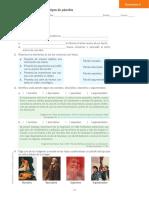 Tipos de párrafo - Actividad de aprendizaje 9°