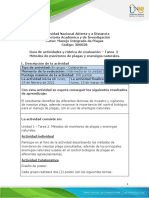 Tarea 2 Métodos de Monitoreo de Plagas y Enemigos Naturales.