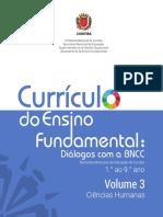 Currículo - ciências humanas