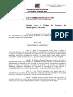 Codigo de Posturas - Lei Compl 380-08 - Atual Ate 20 DEZEMBRO 2019