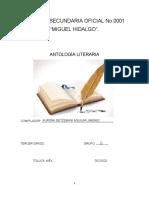 antologías literarias