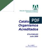 Dta-pub-023 v2 Catalogo Acreditacion Jul-2009