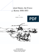 The United States Air Force in Korea 1950 -1953
