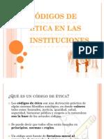 Códigos de Ética en las Instituciones