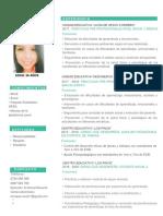 Curriculum Vitae Carla Enriquez