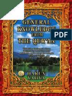 General Knowledge 1st Vrs HARUN YAHYA