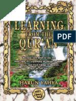 Learning From the Quran Harun Yahya
