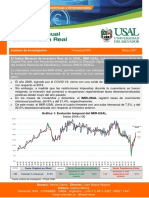 USAL Indice de Inversión Real N 9 Marzo 2021