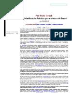 Reivindicação Judaica para a terra de Israel