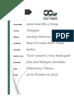 Analisis Como contribuye la educacion en la estabilidad y mejora de una actividad