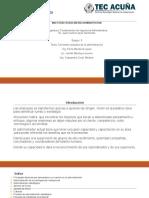 Equipo 3 Corrientes Actuales de La Administracion