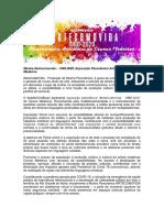 ARTECOMOVIDA de Civone Medeiros_apresentação da proposta pra lei aldir blanc-funcarte-natal-rn-2020