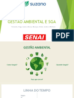 Apresentação slide sobre sistema der gestão ambiental