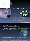 Lecture 7-Flight Environments