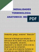 Presentacion Terminologia Anatomico Medica - Dra Nancy. Morfofisiologia i (1)
