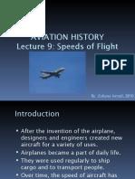 Lecture 9-Speeds of Flight