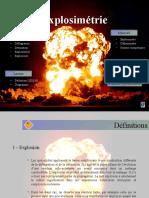 Explosimétrie