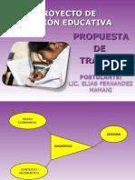 PROYECTO DE GESTION ACADEMICO INSTITUCIONAL Y CURRICULAR
