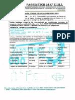 Certificado de Cordon de Soldadura