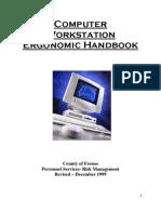 Ergonomic Handbook 6-09